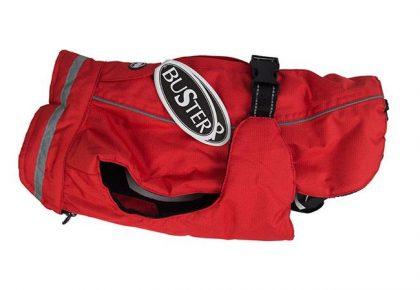 buster red vinterjakke1539861222.5186 420x290 - Husk at giv din hund vinterjakke på